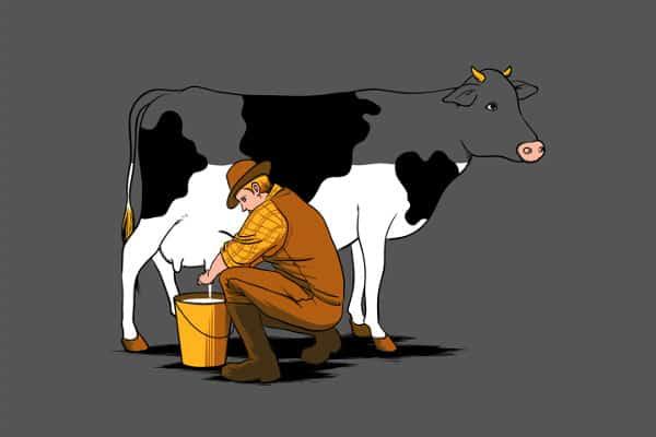 Il existe vraiment des hommes qui boivent du lait